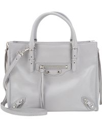Balenciaga Papier Mini Side-zip Tote - Lyst