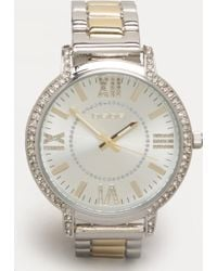 Bebe - Rhinestone Watch - Lyst