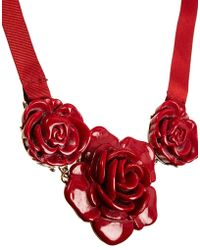 Cath Kidston - Rose Necklace - Lyst