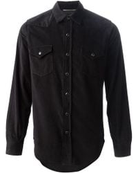Saint Laurent B Pocket Shirt - Lyst