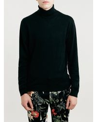 LAC - Selected Homme Bk Tower Roll Neck Jumper - Lyst