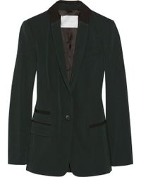 A.L.C. Thibay Wool and Cottonblend Blazer - Lyst