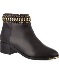 KG by Kurt Geiger Speed Leather Ankle Boots - For Women - Lyst