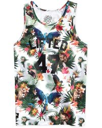 LRG Big and Tall Bird Game Crazy Basketball Jersey - Lyst