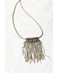 Urban Outfitters - Harley Fringe Pendant Necklace - Lyst