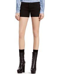 Gucci Black Black Shorts - Lyst