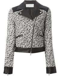 Thakoon Addition Quilted Floral Print Jacket - Lyst