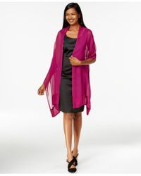 Style & Co. - Style&Co. Beaded Hem Evening Wrap, Only At Macy'S - Lyst