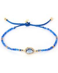 Tai - Blue Starburst Beaded Bracelet - Lyst