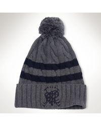 Polo Ralph Lauren Pompom Cricket Hat - Lyst