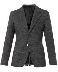 Dolce & Gabbana Two-Button Wool-Blend Blazer - Lyst