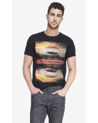 Express Graphic Tee - Wild Life - Lyst