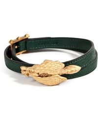 Valentino Leather Griffon Wrap Bracelet - Lyst