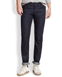 Rag & Bone Standard Issue Fit 3 Slim Straight-Leg Jeans - Lyst