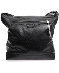 Balenciaga Classic Leather Messenger Bag - Lyst