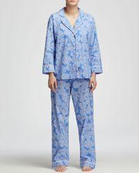 Marigot Collection - Lorient Block Long Pajama Set - Lyst