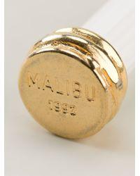Malibu 1992 - Column Shape Earrings - Lyst