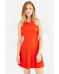 Kimchi Blue - Pleated Skirt Dress - Lyst