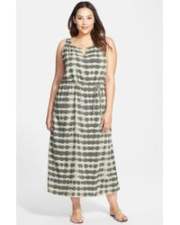 Two By Vince Camuto 'Sun Baked Stripes' Sleeveless Maxi Dress - Lyst