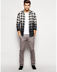 Cheap Monday Slim Fit Chinos - Lyst