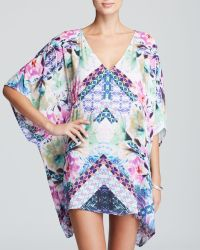 Nanette Lepore Bollywood Caftan Swim Cover Up - Lyst
