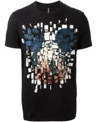 Neil Barrett Mickey Mouse Print T-Shirt - Lyst