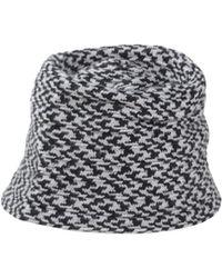 Exquisite J Hat gray - Lyst