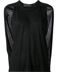 Yigal Azrouel Cape Top - Lyst