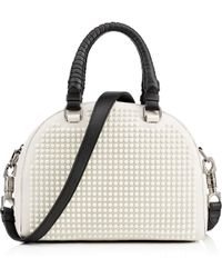 Christian Louboutin Sweet Charity Woodoo Calf Hair Shoulder Bag - Lyst