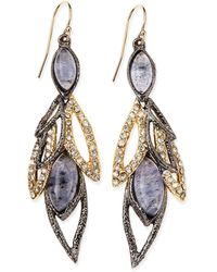 Alexis Bittar Elements Marquise Multi-stone Dangle Earrings - Lyst
