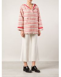 Thakoon Addition - Striped Hooded Top - Lyst