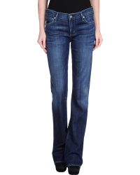 Citizens of Humanity Denim Trousers - Lyst