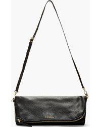 Burberry Prorsum - Black Deerskin The Petal Large Clutch - Lyst