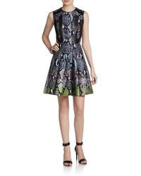 Diane Von Furstenberg Ida Woolsilk Dress - Lyst