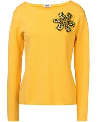 Moschino Cheap & Chic Long Sleeve Jumper - Lyst