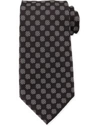 Tom Ford Textured-Dot Woven Tie - Lyst