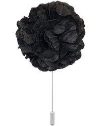Dibi - Black Lapel Pin - Lyst