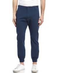 Dockers | Navy On-The-Go Slim Tapered Jogger Pants | Lyst
