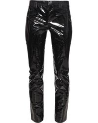 Haider Ackermann Patent Leather Trousers - Lyst