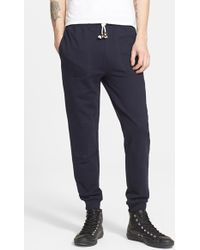 Band of Outsiders Cotton Terry Sweatpants - Lyst