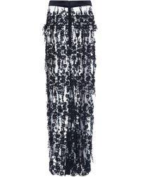 Katie Ermilio - Lace Evening Skirt - Lyst