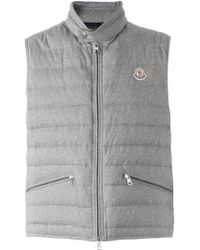 Moncler - Quilted Gilet - Lyst