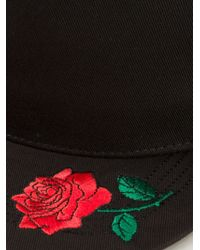 P.a.m. Perks And Mini - Embroidered Rose Cap - Lyst