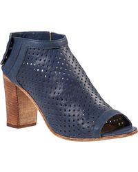 275 Central Perforated Bootie Navy Leather - Lyst