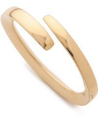 Maiyet | Bangle With Hinge - Gold | Lyst