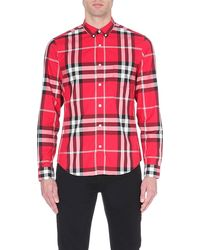 Burberry Brit Niall Exploded-check Shirt - Lyst