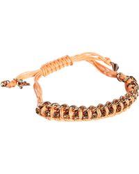 Rachel Roy Chain Wrapped Slider Friendship Bracelet - Lyst