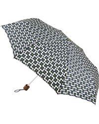 Orla Kiely - Tiny Flower Shadow Print Folding Umbrella - Lyst