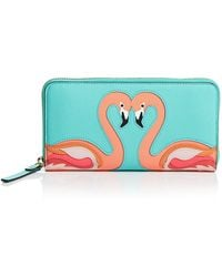 Kate Spade Wallet - Strut Your Stuff Lacey Continental blue - Lyst