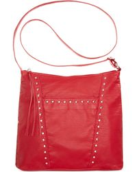 Z Spoke By Zac Posen Zac Sac Top Handle Briefcase in Red ...